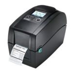 "GoDEX-Thermo-Transfer-Drucker 2"" - RT200i, 203dpi mit Display"